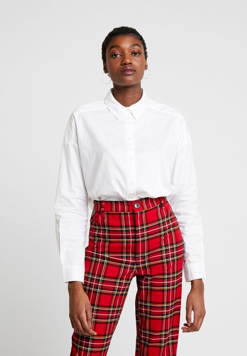 Monki - YANDRA - Overhemdblouse - white