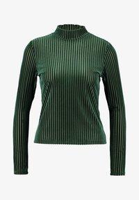 Monki - PIRA - Maglietta a manica lunga - green - 3