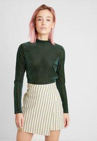 Monki - PIRA - Maglietta a manica lunga - green - 0
