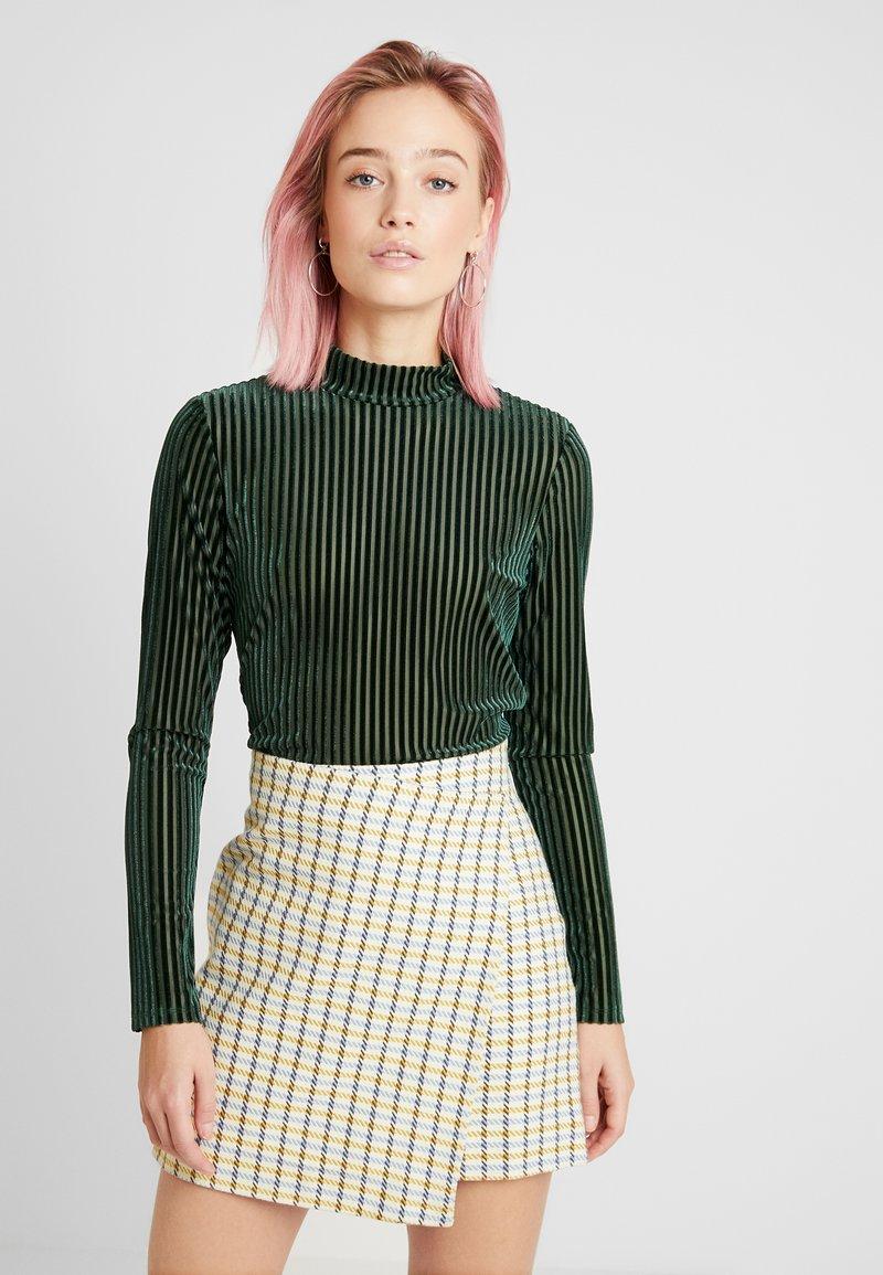 Monki - PIRA - Maglietta a manica lunga - green