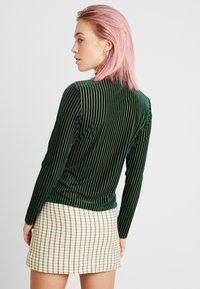 Monki - PIRA - Maglietta a manica lunga - green - 2