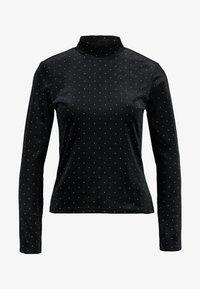 Monki - PIRA - Maglietta a manica lunga - black/silver - 4