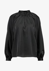 Monki - SILLY BLOUSE - Bluser - black - 5