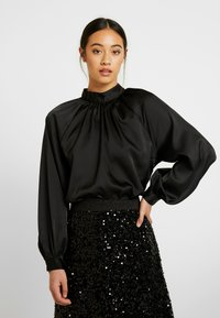 Monki - SILLY BLOUSE - Bluser - black - 0