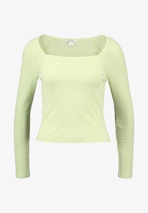 MALOU - Langærmede T-shirts - light green