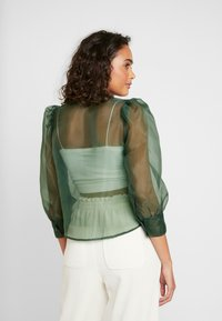 Monki - BLOUSE - Camicia - green - 2