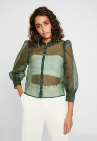 Monki - BLOUSE - Camicia - green - 0