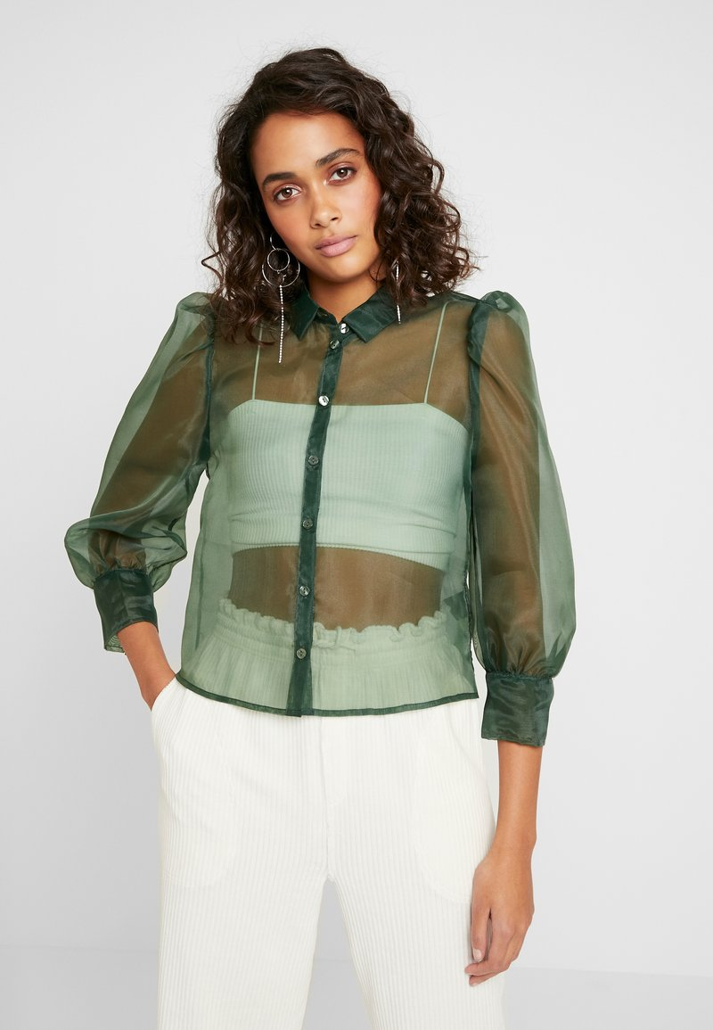 Monki - BLOUSE - Camicia - green