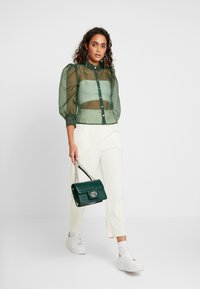 Monki - BLOUSE - Camicia - green - 1