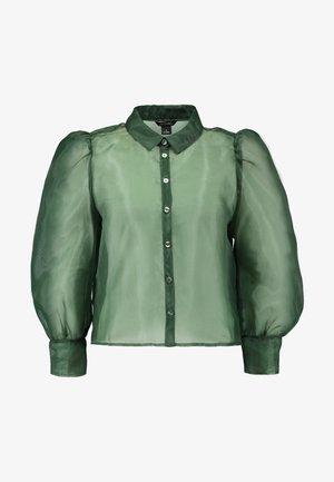 BLOUSE - Skjorte - green