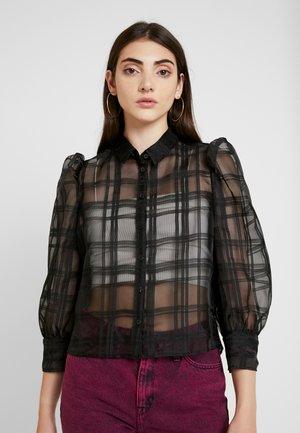 BLOUSE - Skjorte - black
