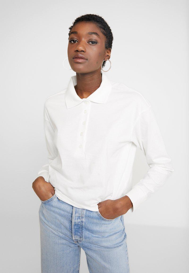 Monki - PERNILLA - Poloshirt - white
