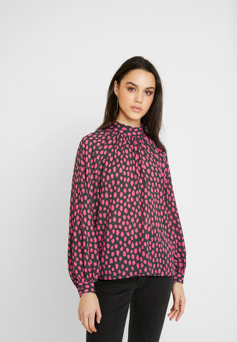 Monki - SILLY BLOUSE - Bluser - pink