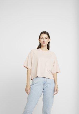 Fura 2 PACK - T-shirts - khaki/pink