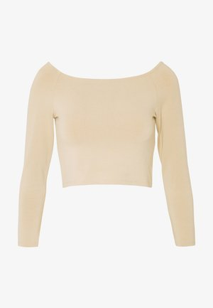 KIRA - Topper langermet - light beige
