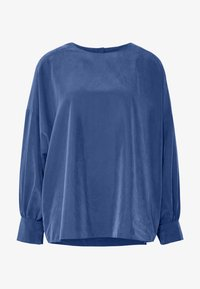 Monki - MARYANNE BLOUSE - Blouse - blue