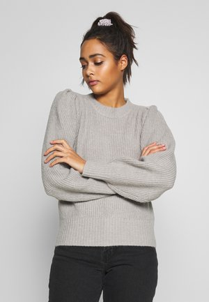 QAMELIA - Sweter - grey dusty light