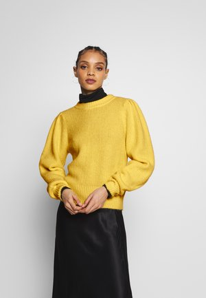 QAMELIA - Pullover - yellow light