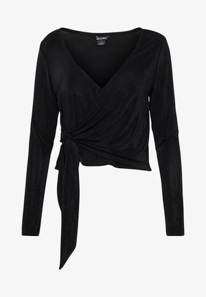 OLINAT OP - Maglietta a manica lunga - black