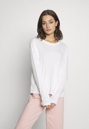 MAJA - Long sleeved top - black/white