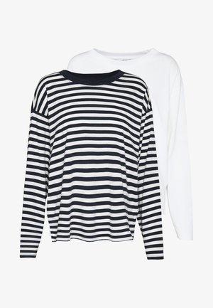 MAJA - Langærmede T-shirts - white