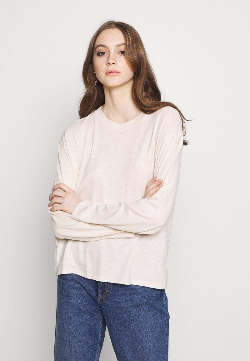 Monki - MAJA - Long sleeved top - white