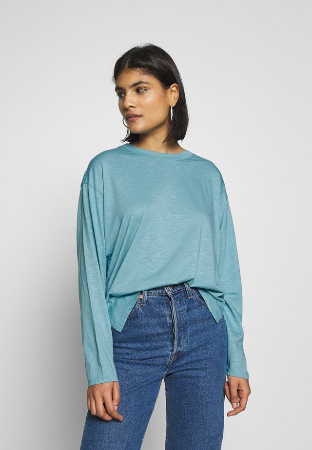 MAJA - Long sleeved top - turquoise