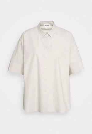 LUCA BLOUSE - Skjorte - beige