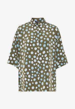 TAMRA BLOUSE - Skjorte - khaki green/khakiblue