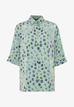 TAMRA BLOUSE - Košile - green/mintblue