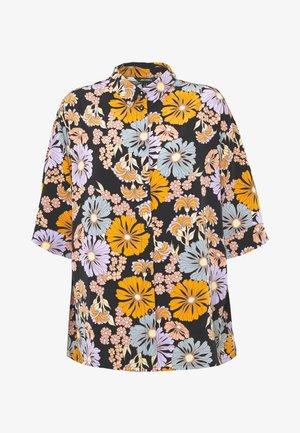 TAMRA BLOUSE - Button-down blouse - black