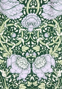 Monki - TAMRA BLOUSE - Button-down blouse - green ellisflower - 2