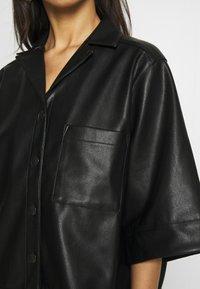 Monki - DALE BLOUSE - Camisa - black - 5