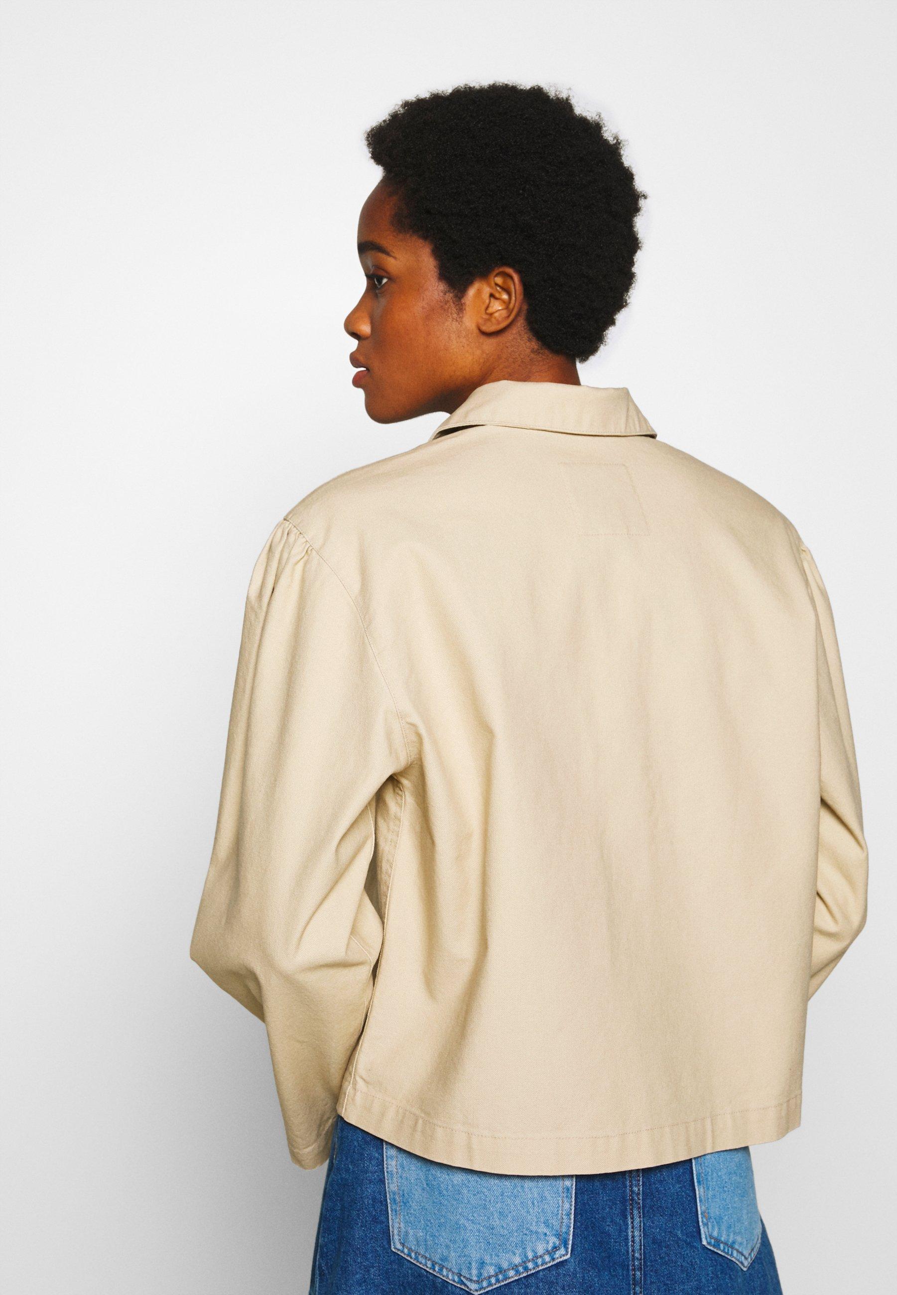 Monki Maddie Jacket - Leichte Jacke Beige