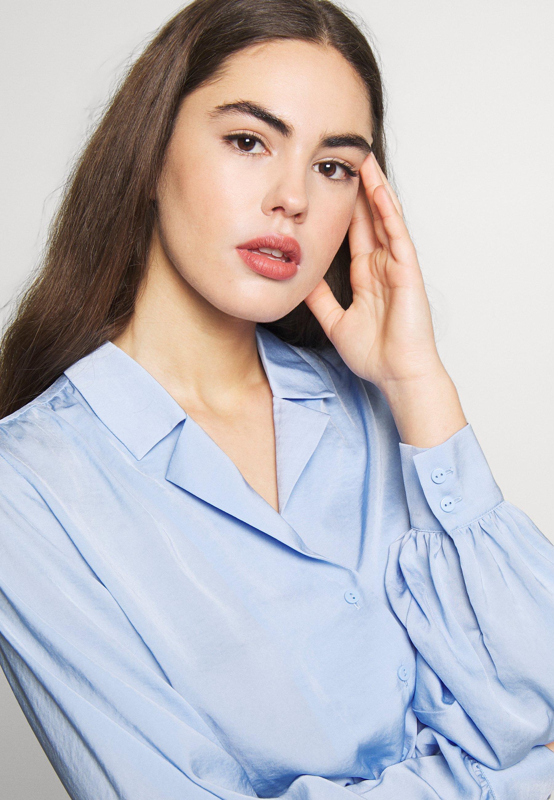 Monki NATALIE - Bluser - blue light