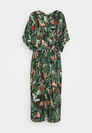 CARRO KAFTAN - Shirt dress - green dark
