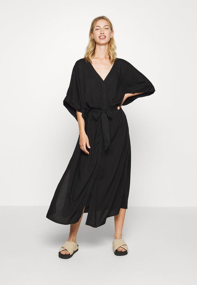 CARRO KAFTAN - Skjortklänning - black dark
