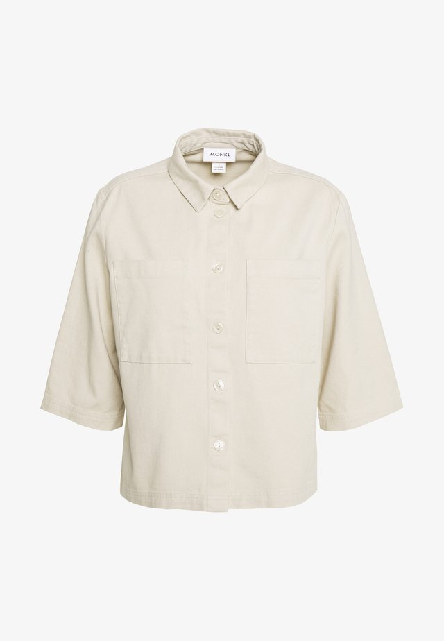 FARREN - Button-down blouse - beige