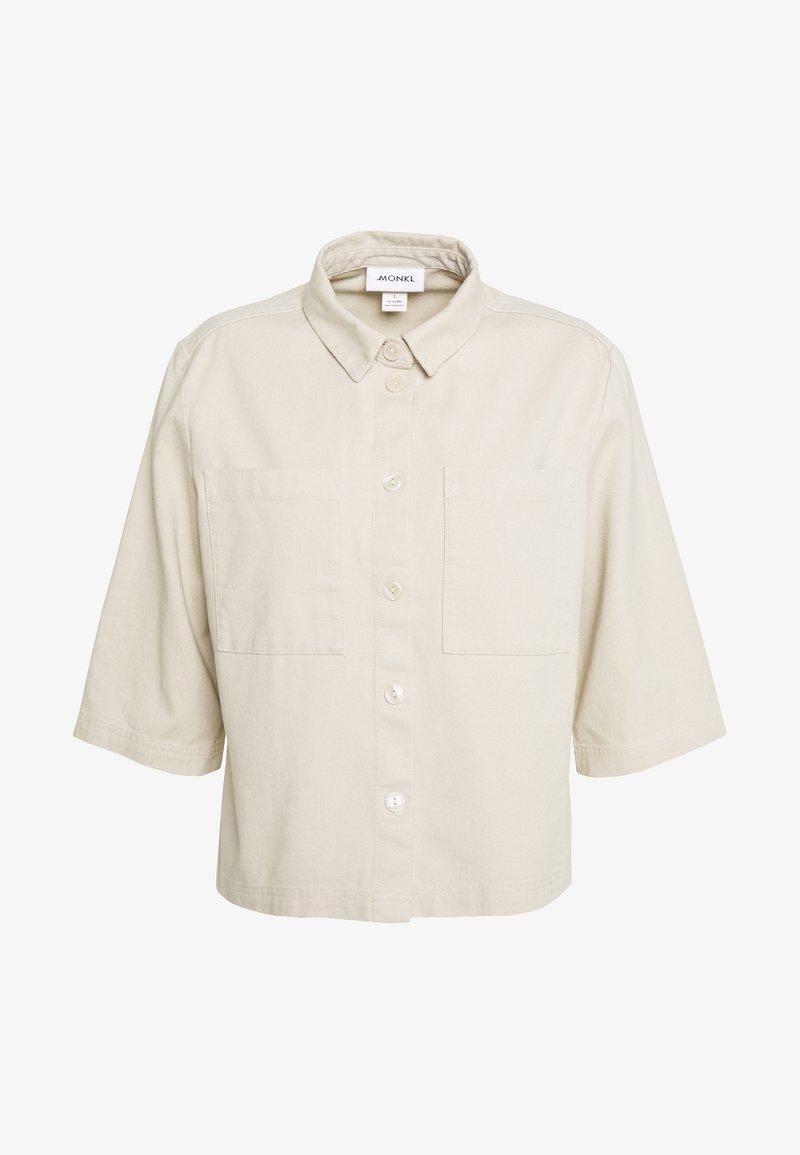 Monki - FARREN - Overhemdblouse - beige