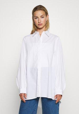 GERRI - Button-down blouse - white