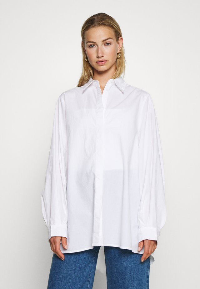 GERRI - Button-down blouse - white