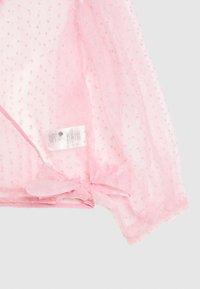 Monki - OLIVIA BLOUSE - Blouse - light pink organza - 3