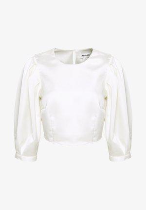 OLLY BLOUSE - Bluse - white light