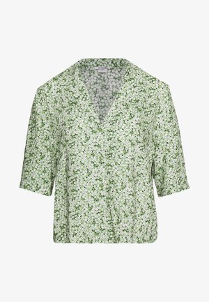 TANNY BLOUSE - Button-down blouse - green