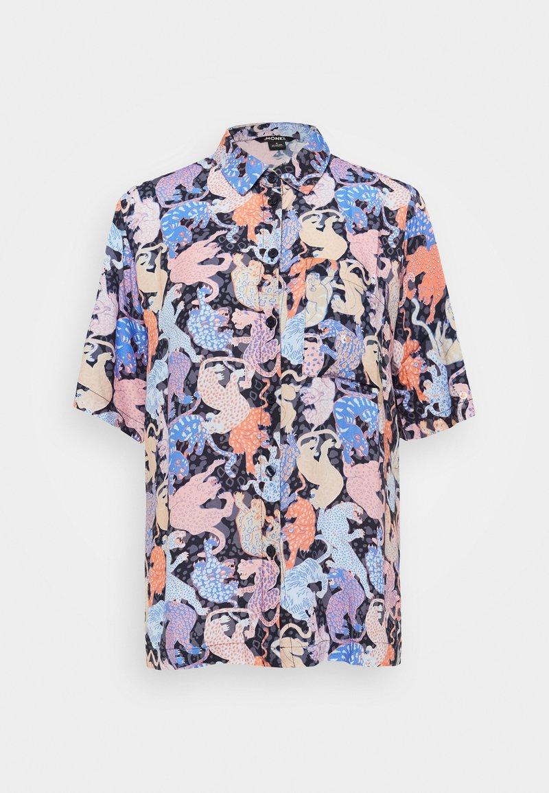 Monki - BLESS BLOUSE - Skjorte - blue