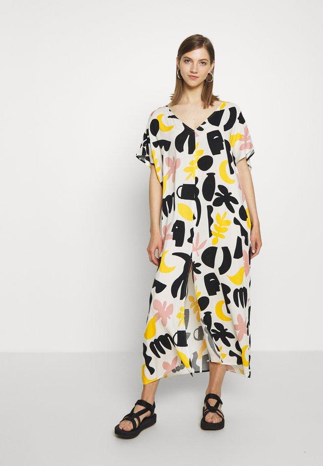 APRIL DRESS - Długa sukienka - white dusty