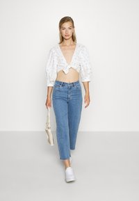 Monki - SOLA BLOUSE - Pusero - white - 1