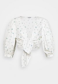 Monki - SOLA BLOUSE - Pusero - white - 4