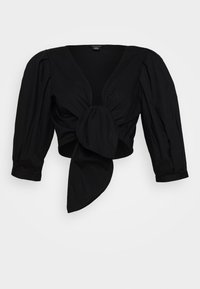 Monki - SOLA BLOUSE - Blouse - black dark unqiue - 4