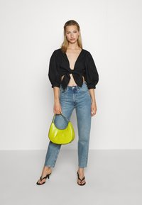 Monki - SOLA BLOUSE - Blouse - black dark unqiue - 1
